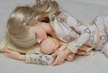 Tienerpoppen  mini dolls