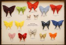 Origami : papillons