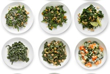 Greens / All types of greens, spinach, broccoli, collard greens, bok choi, watercress and more.