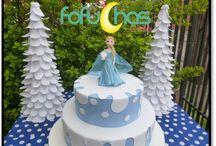 Decoración para fiesta temática Frozen