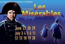 Les Misérables / Les Misérables at Raven Healdsburg - June 27 to July 20 2014. http://raventheater.org/event_calendar.aspx?event_id=2301 / by Raven Performing Arts Theater
