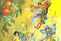 Illustrated fairies and littlies