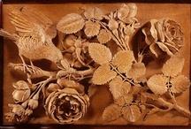 Резные розы