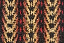 Bright Natural Fibre Coir Floors / Bold colour and strong pattern in a range of practical and hardwearing coir runners, rugs or fitted carpets.