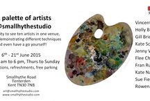 South East Open Studios / Participation in the SEOS.  Exhibiting and demonstrating oil painting en plein air.
