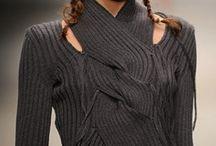 Пуловер+шарф