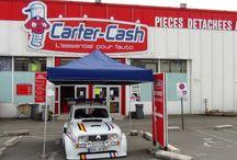 """4l du film """"Rien à Déclarer"""" / Le magasin de Capinghem a eu la chance de l'accueillir lors d'une expo de véhicules anciens et de prestiges le 17 mai 2012."""