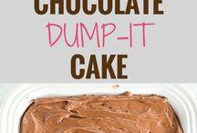 cokolate dump-it cake