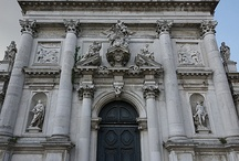Chiesa di San Stae / San Stae, an abbreviation for Saint Eustachius, was founded at the beginning of 11th century and reconstructed in 17th century, has a main facade (1709) on the Grand Canal of Venice, constructed by Domenico Rossi, and richly decorated.