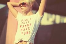 girls jusss wanna have fun. ;) / by Madison Bohren