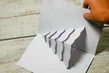 paper, scissors, glue...