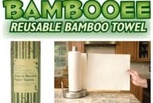 Bamboo Paper Products / Other uses for bamboo for paper products / by Bum Boosa