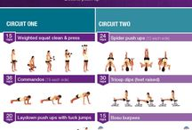 home workouts / No more excuses! Easy home workouts to do any time of the day :)