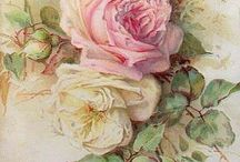 Crafts - Clip Art - Roses / by Claudia Tyler