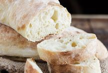 Ciabatta and baking