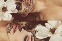 Face make up halloween
