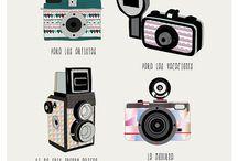 Lomography Illustrations