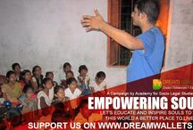 EMPOWERING SOULS! / LET'S EDUCATE AND INSPIRE SOULS TO MAKE THIS WORLD A BETTER PLACE TO LIVE IN.