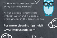 Molly's Suds Cleaning & Laundry Tips & Tricks! / Try these handy, natural cleaning and laundry tips and tricks around the home - they're sure to work! Visit mollyssuds.com for more tips!