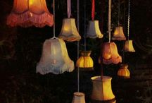 Outdoor lampshades