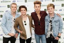 The Vamps / The Vamps are the best band ever, they play catchy music and are cute!