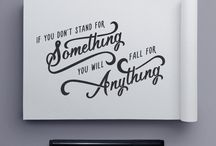 Typography / Creative typography
