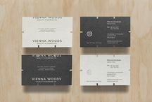 Business Card Designs / Gorgeous business cards and office collateral. / by Catherine Winter