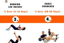 Workout exercises