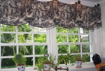 Window Treatments & Pillows / Sewing  / by Jennifer C