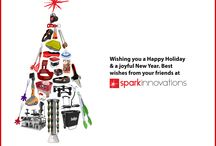 Spark Innovations Holiday Cards / Spark Innovations Holiday Cards!