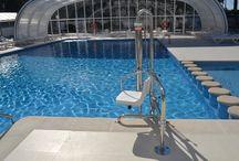 Accesibilidad en piscinas / Accesibilidad en piscinas  http://aquaticproyect.com/productos/piscinas/complementos/accesibilidad/