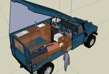 Land Rover camper conversion