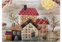 Casinhas de patchwork