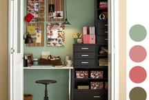 closet office / by Rauchelle Meschke