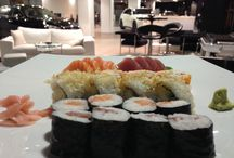 Sushi  / Enjoy our new sushi boxes in our Infiniti Lounge....