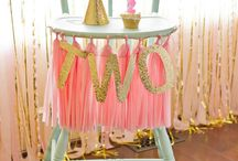Pink & Gold Party Ideas