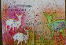 The Art Journal Inspiration Board / by Tatiana Davis