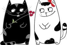Kitty Cat Art