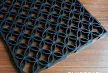 TOP-JOY Sport Interlocking Tile / These are interlocking sports tiles, which are easy to install and remove.
