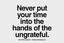 ungreatful