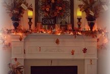 DECORATE THE FIREPLACE