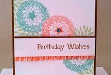 Birthday Cards & Projects / If you need to celebrate a birthday, here you go.