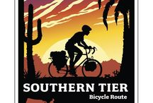 Southern Tier Dreamin' / Top of my bucket list is to cycle across the USA. These pins allow me to live the dream until I can make it a reality.