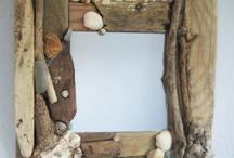 Καθρέφτες απο ξύλο