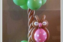Аэродекор / Украшение шарами, фигуры из шаров