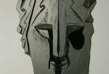 Glass head