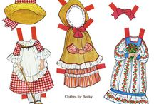 Paper dolls / by Isabel Pavia