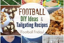 Football, tailgating recipes and ideas / by Elisha Derby