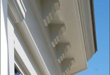Walpole Outdoors Architectural Elements / Imaginative touches can add enormously to the enjoyment you get when looking over the exterior of your home. With Walpole artistry, you will immediately see the difference created by custom handcrafted dentils, rafter tails, brackets, corbels, cornices, pilasters, and lattice panels. Offered in cedar or in low maintenance solid cellular vinyl, these architectural details will illustrate your sense of style while enhancing the value of your property.