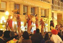Alicante Fiestas / Alicante has loads of fiestas all year round!  Here are pictures of just SOME of them!